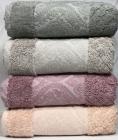 Набор 4 полотенца Pupilla Dekor 70х140см (банные), трикотаж