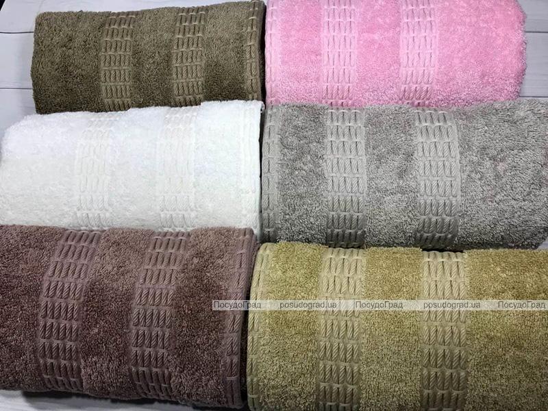 Набор 6 полотенец Pupilla Bamboo Destina 70х140см (банные), бамбук