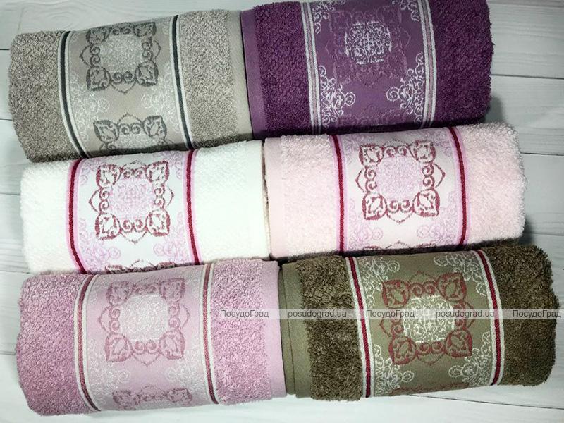 Набор 6 полотенец Pupilla Bamboo Veta 50х90см (лицевые), бамбук