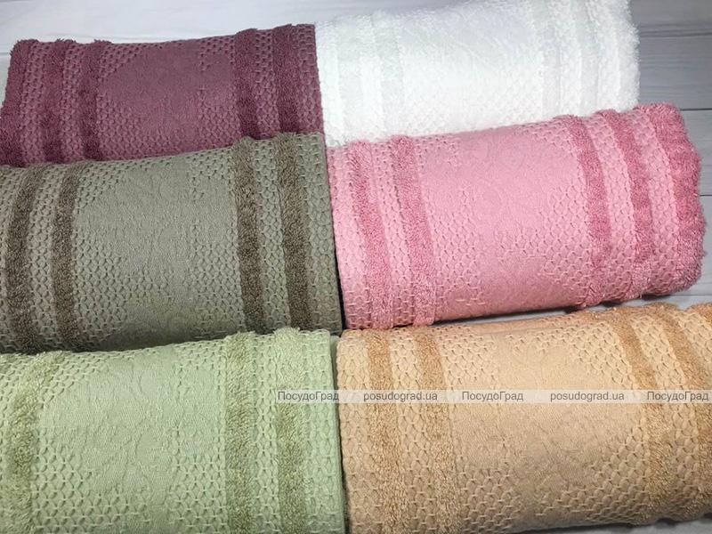 Набор 6 полотенец Pupilla Bianca 70х140см (банные), бамбук