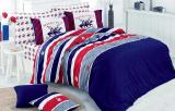 Комплект постельного белья Polo Сlub 011 Евро, ранфорс