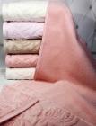 Набор 6 махровых полотенец Durul Havlu Padishah 50х90см, лицевые