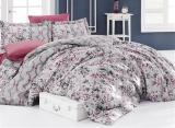 Комплект постельного белья Nazenin Amore Gri Евро (4 наволочки), сатин