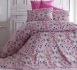 Комплект постельного белья Nazenin Aura-Lila Евро, ранфорс