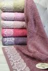 Набор 6 махровых полотенец Sweet Dreams-4463 70х140см (банные)