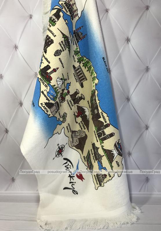 Набір 12 кухонних рушників Art of Sultana Antalya Adana 40х60 махра/велюр