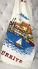 Набір 12 кухонних рушників Art of Sultana Antalya Sea 40х60 махра/велюр