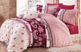 Комплект постельного белья Nazenin Fiesta Visne Евро (4 наволочки), сатин