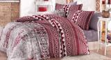 Комплект постельного белья Nazenin Estrella Krem Евро (4 наволочки), сатин