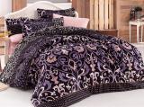 Комплект постельного белья Nazenin Valentino Lila Евро (4 наволочки), сатин