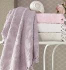 Набор 4 полотенца Pupilla Elize 70х140см (банные), хлопок