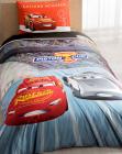Детское постельное белье TAC Disney Cars полуторный, ранфорс