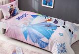 Детское постельное белье TAC Disney Frozen полуторный, ранфорс