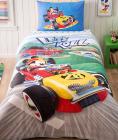 Детское постельное белье TAC Disney Mickey Mouse полуторный, ранфорс