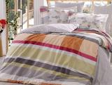 Комплект постельного белья Hobby 4702 Евро, поплин (100% хлопок)