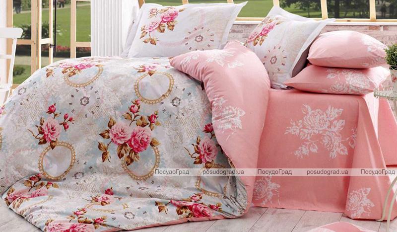 Комплект постельного белья Hobby 4706 Евро, поплин (100% хлопок)