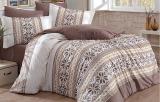 Комплект постельного белья Hobby 4709 Евро, поплин (100% хлопок)