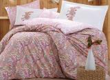 Комплект постельного белья Hobby 4712 Евро, поплин (100% хлопок)