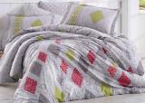 Комплект постельного белья Hobby 4716 Евро, поплин (100% хлопок)