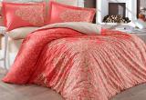 Комплект постельного белья Hobby 4718 Евро, поплин (100% хлопок)