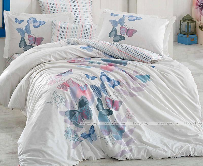 Комплект постельного белья Hobby 4719 Евро, поплин (100% хлопок)
