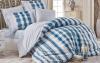 Комплект постельного белья Hobby 4721 Евро, поплин (100% хлопок)