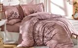 Комплект постельного белья Hobby 4723 Евро, поплин (100% хлопок)