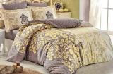 Комплект постельного белья Hobby 4724 Евро, поплин (100% хлопок)