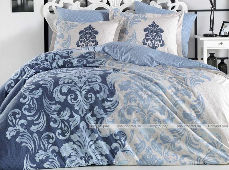 Комплект постельного белья Hobby 4725 Евро, поплин (100% хлопок)