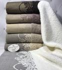 Набор 6 махровых полотенец Sweet Dreams-4798 70х140см (банные)