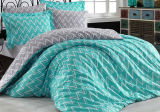 Комплект постельного белья Hobby 4843 Евро, поплин (100% хлопок)