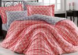 Комплект постельного белья Hobby 4845 Евро, поплин (100% хлопок)