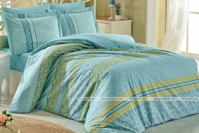 Комплект постельного белья Hobby 4847 Евро, поплин (100% хлопок)