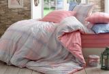 Комплект постельного белья Hobby 4851 Евро, поплин (100% хлопок)