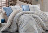 Комплект постельного белья Hobby 4852 Евро, поплин (100% хлопок)