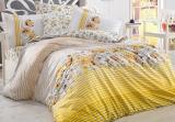 Комплект постельного белья Hobby 4853 Евро, поплин (100% хлопок)