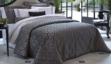 Покривало Pepper Home Orlando 270х260см з наволочками і декоративними подушками, жаккард