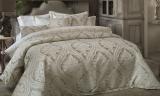 Покрывало Pepper Home Claris 270х260см с наволочками и декоративными подушками, жаккард