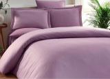 Комплект постельного белья Elita Mudrum Евро лиловый (4 наволочки), жаккардовый бамбук с сатином