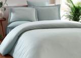 Комплект постільної білизни Elita Mint Євро ментоловий (4 наволочки), жакардовий бамбук з сатином