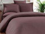 Комплект постельного белья Elita Chocolate Евро шоколадный (4 наволочки), жаккардовый бамбук с сатином