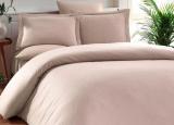 Комплект постельного белья Elita Bej Евро бежевый (4 наволочки), жаккардовый бамбук с сатином