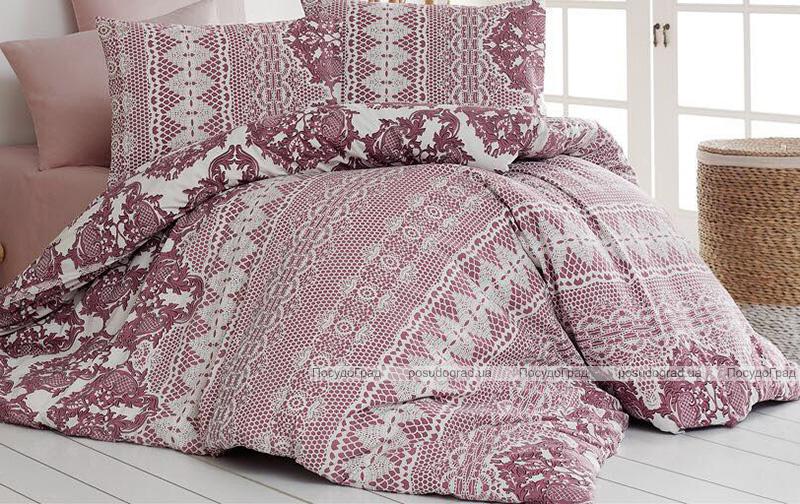 Одеяло Nazenin Bordo 195х215см, с силиконовым наполнителем