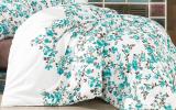 Одеяло Nazenin Blue Branch 195х215см, с силиконовым наполнителем