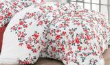 Одеяло Nazenin Red Flowers 195х215см, с силиконовым наполнителем