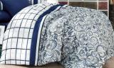Одеяло Nazenin Blue Petal 195х215см, с силиконовым наполнителем