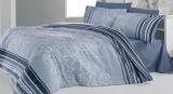 Комплект постельного белья Nazenin Carmen Fume Евро, байка (фланель)