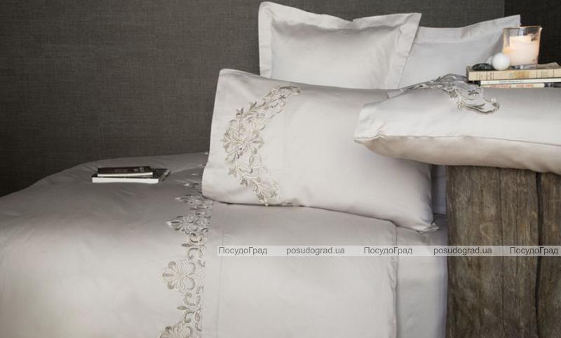 Комплект постельного белья Pupilla Pier Kapicino Евро (4 наволочки), сатин с 3D вышивкой