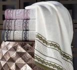 Набор 4 лицевых махровых полотенца Pupilla Otantik 50х90см