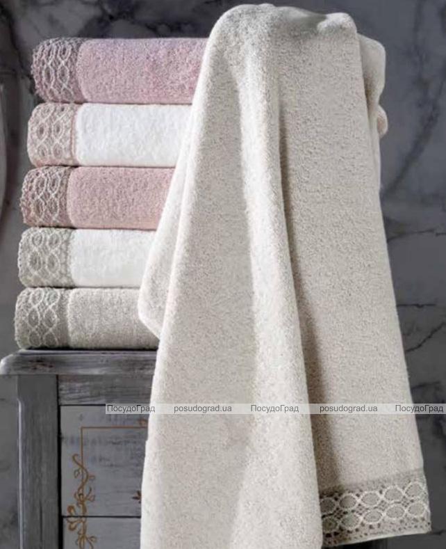 Набор банных полотенец Pupilla Tamiris 70х140см трикотажные, махра